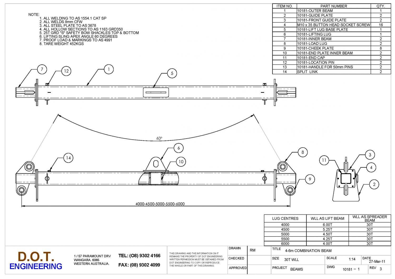 Spreader Beam Design Calculation Xls Kranbahn