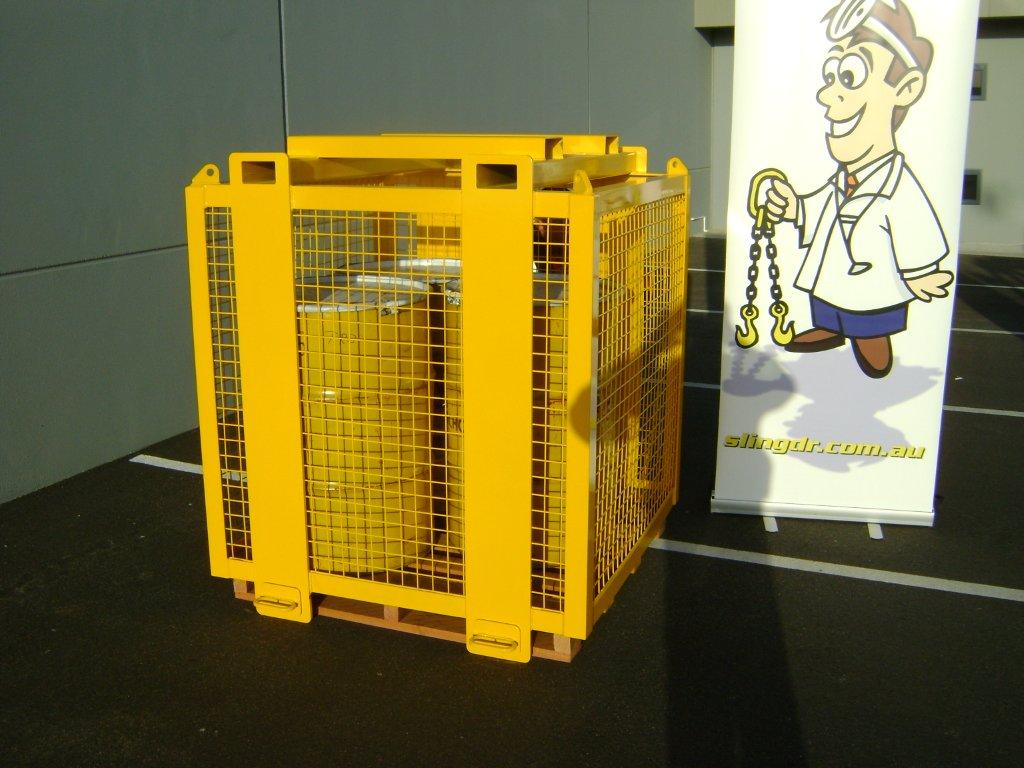 2t Pallet Lifting Cage 187 D O T Engineering