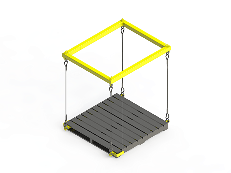 2t Pallet Lifting Frame 187 D O T Engineering